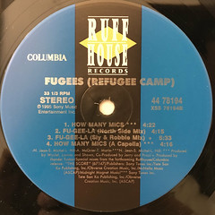 FUGEES:FU-GEE-LA(LABEL SIDE-B)