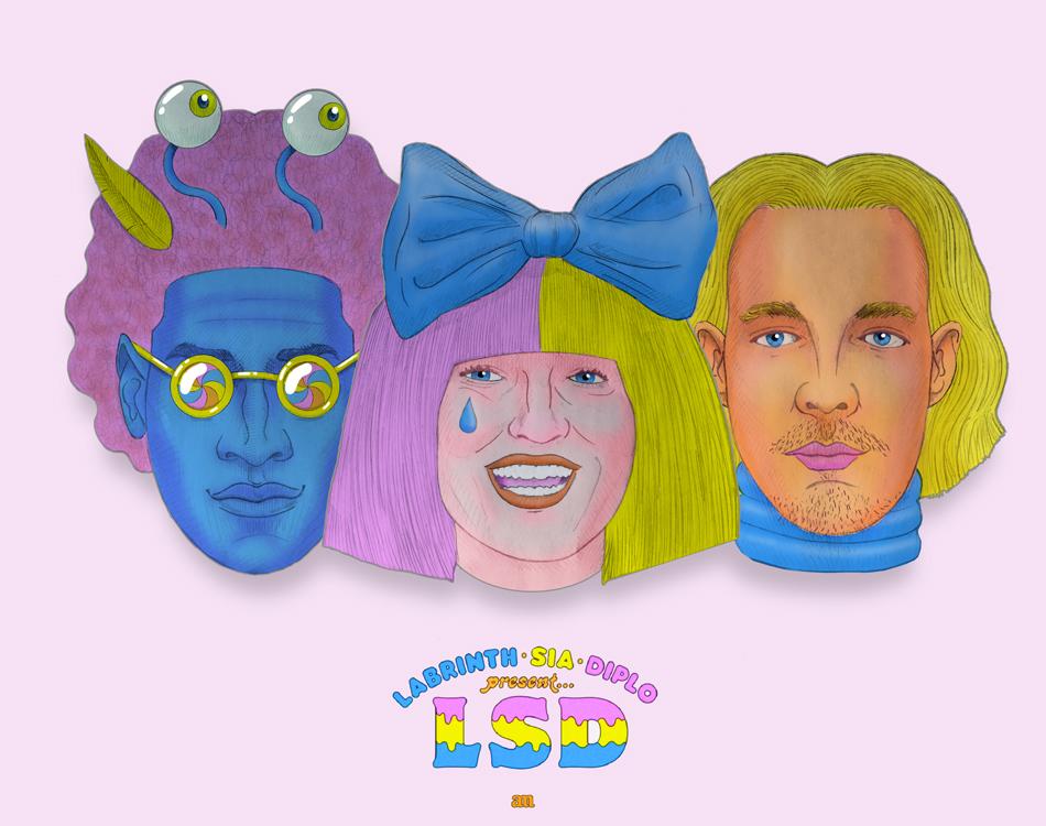 Labrinth, Sia & Diplo present LSD