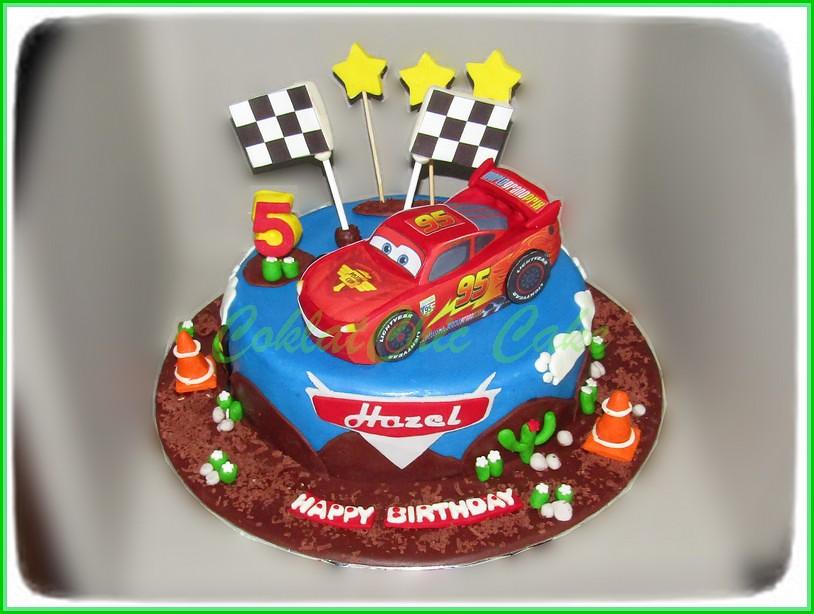 Cake Lightning McQueen Disney Cars HAZEL 20 cm