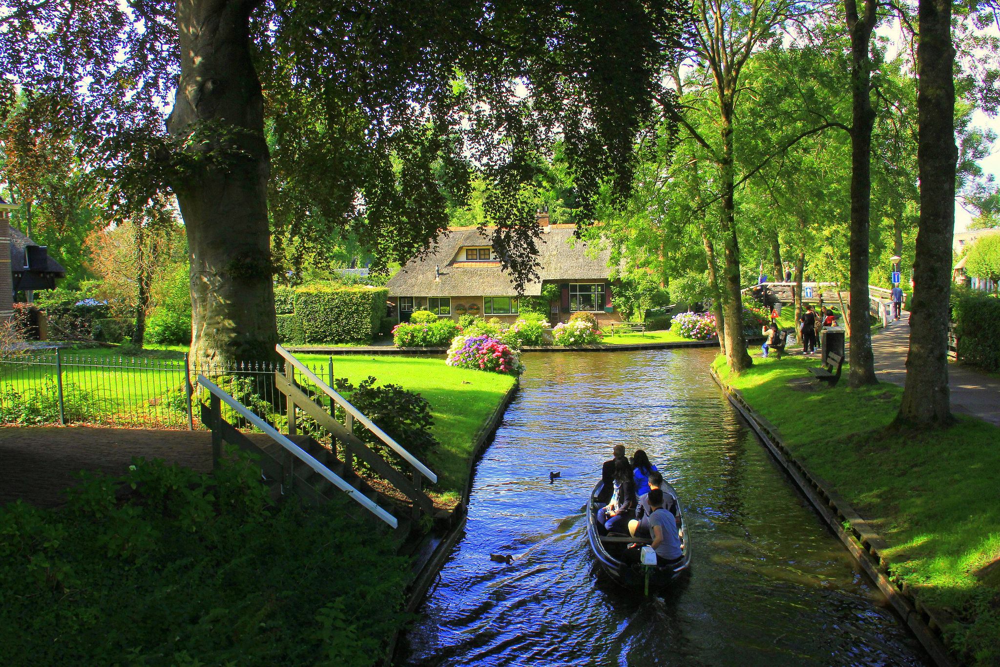 Giethoorn derived its name from 'Goat Horns'