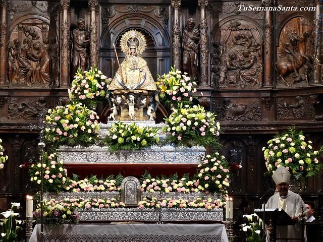 5º Día de novenario a la Patrona de Cáceres