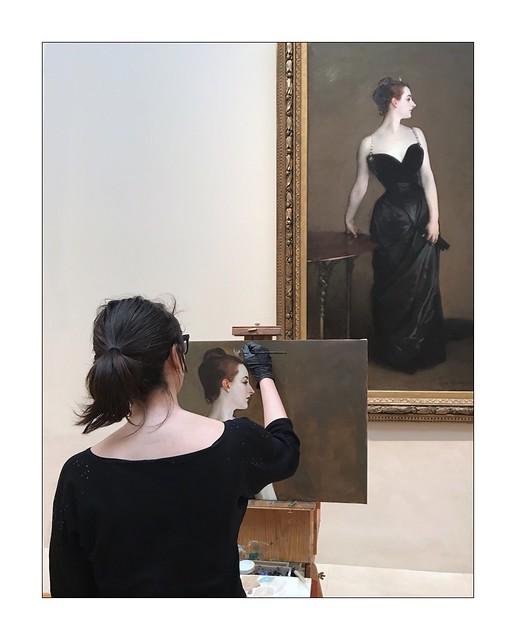 Watching art IV / Metropolitan/ NY