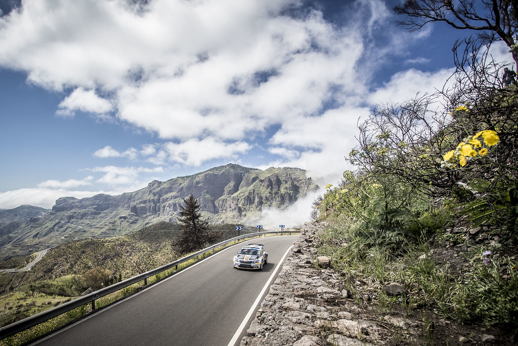 12 BOTKA David (hun), MESTERHAZI Mark (hun), SKODA FABIA R5, action during the 2018 European Rally Championship ERC Rally Islas Canarias, El Corte Inglés,  from May 3 to 5, at Las Palmas, Spain - Photo Gregory Lenormand / DPPI