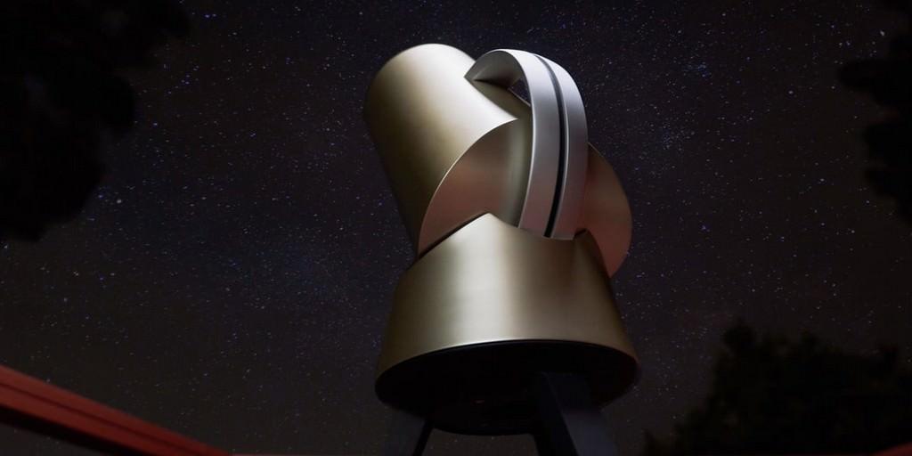 Le télescope intelligent Hiuni peut être utilisé à partir de votre appareil iOS ou Android