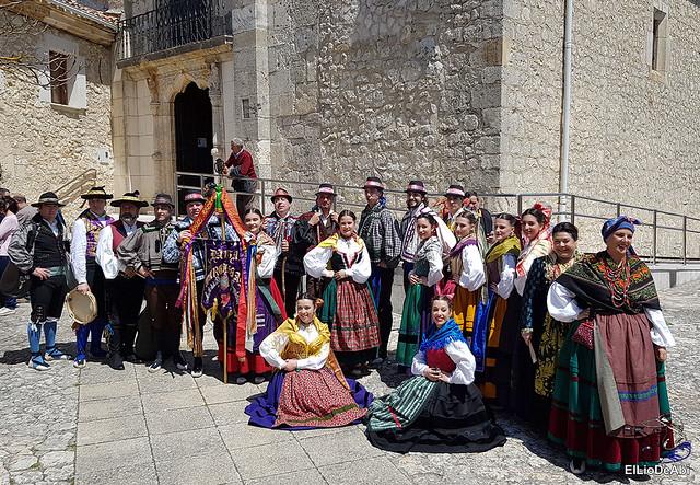 Danzas Burgalesas Justo del Río en la Romería Popular a Santa Casilda 7
