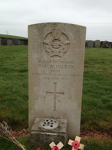 Flt. Lt. Hilton (Duns Cemetery)