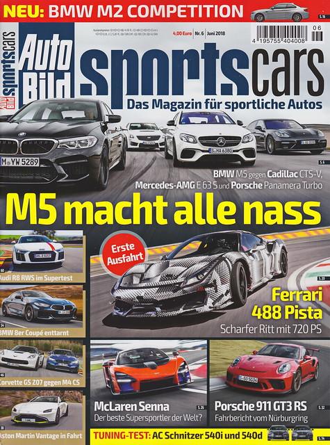 Auto Bild Sportscars 6/2018
