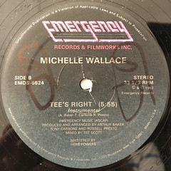 MICHELLE WALLACE:IT'S RIGHT(LABEL SIDE-B)