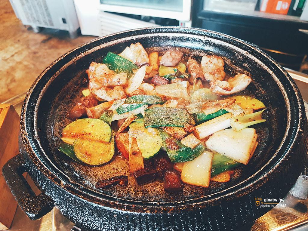 【明洞烤腸】首爾食記一個人也可以吃套餐! @GINA環球旅行生活 不會韓文也可以去韓國 🇹🇼