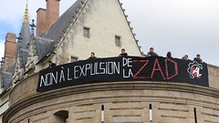 Manifestation nantaise du 14 avril 2018 contre l'expulsion de la ZAD de Notre-Dame-des-Landes - Photo of Saint-Flovier