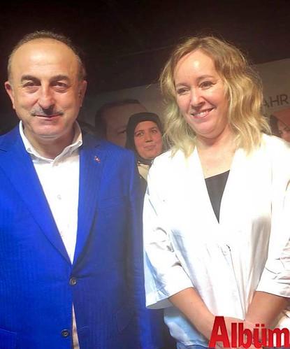 Dışişleri Bakanı Mevlüt Çavuşoğlu, Mine Karagöz