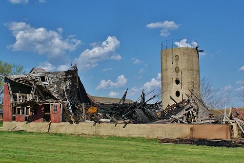 Barn For Sale - Slight Fire Damage