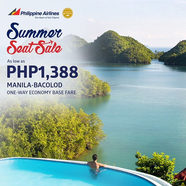 Philippine Airlines Summer Seat Sale Manila to Bacolod
