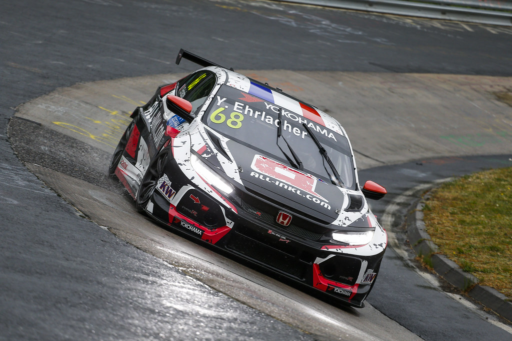 68 EHRLACHER Yann (FRA), ALL-INKL.COM Munnich Motorsport, Honda Civic TCR, action during the 2018 FIA WTCR World Touring Car cup of Nurburgring, Germany from May 10 to 12 - Photo Clement Marin / DPPI
