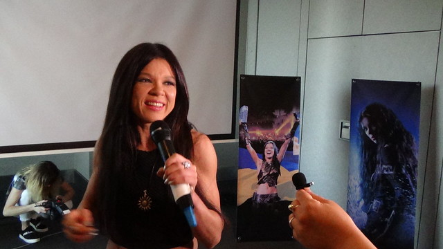Press event Ruslana in Lisbon