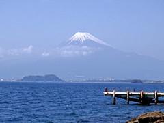 Mount Fuji 沼津市 淡島 駿河湾