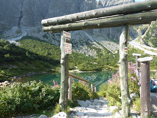 Zelene pleso glacial lake, Slovakia