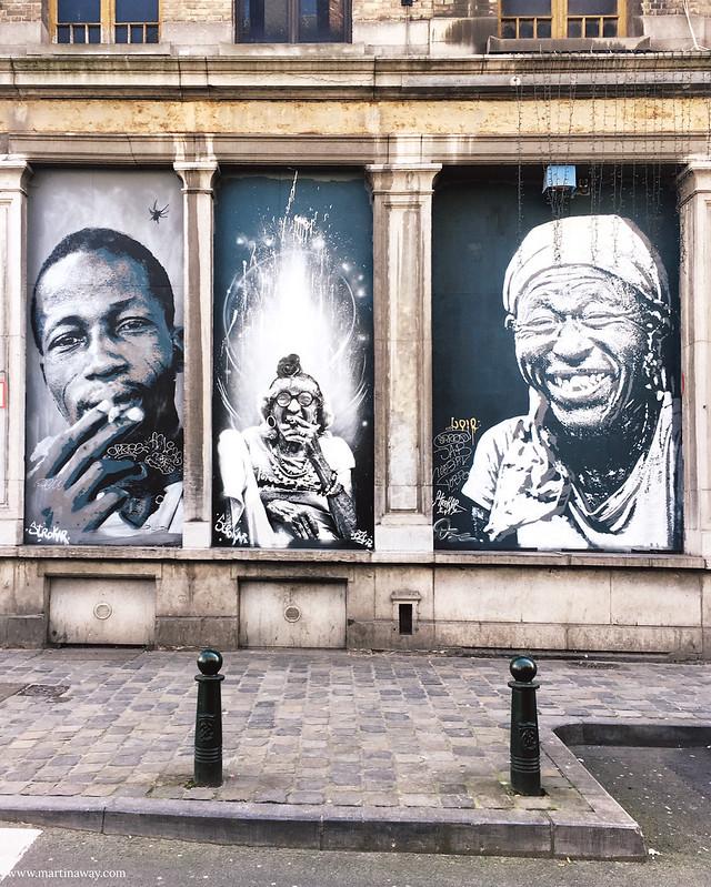 Street art by Doctor Bergman, BZT and Ose for Strokar