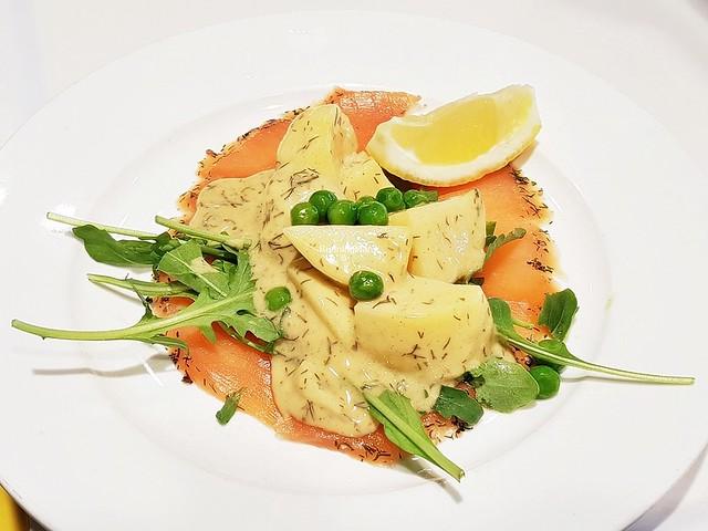 Gravad Lax With Potato Salad