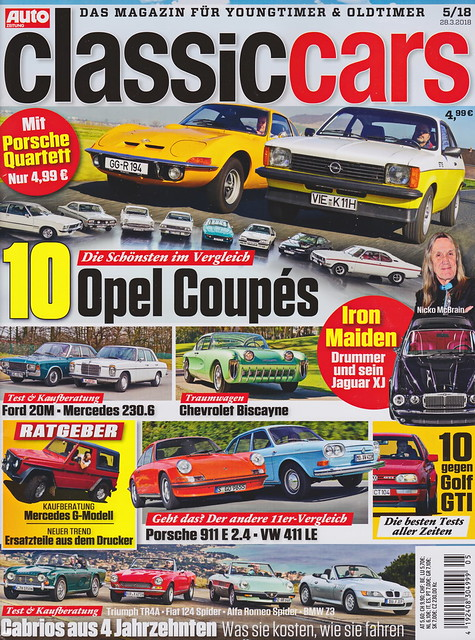 Auto Zeitung - Classic Cars 5/2018