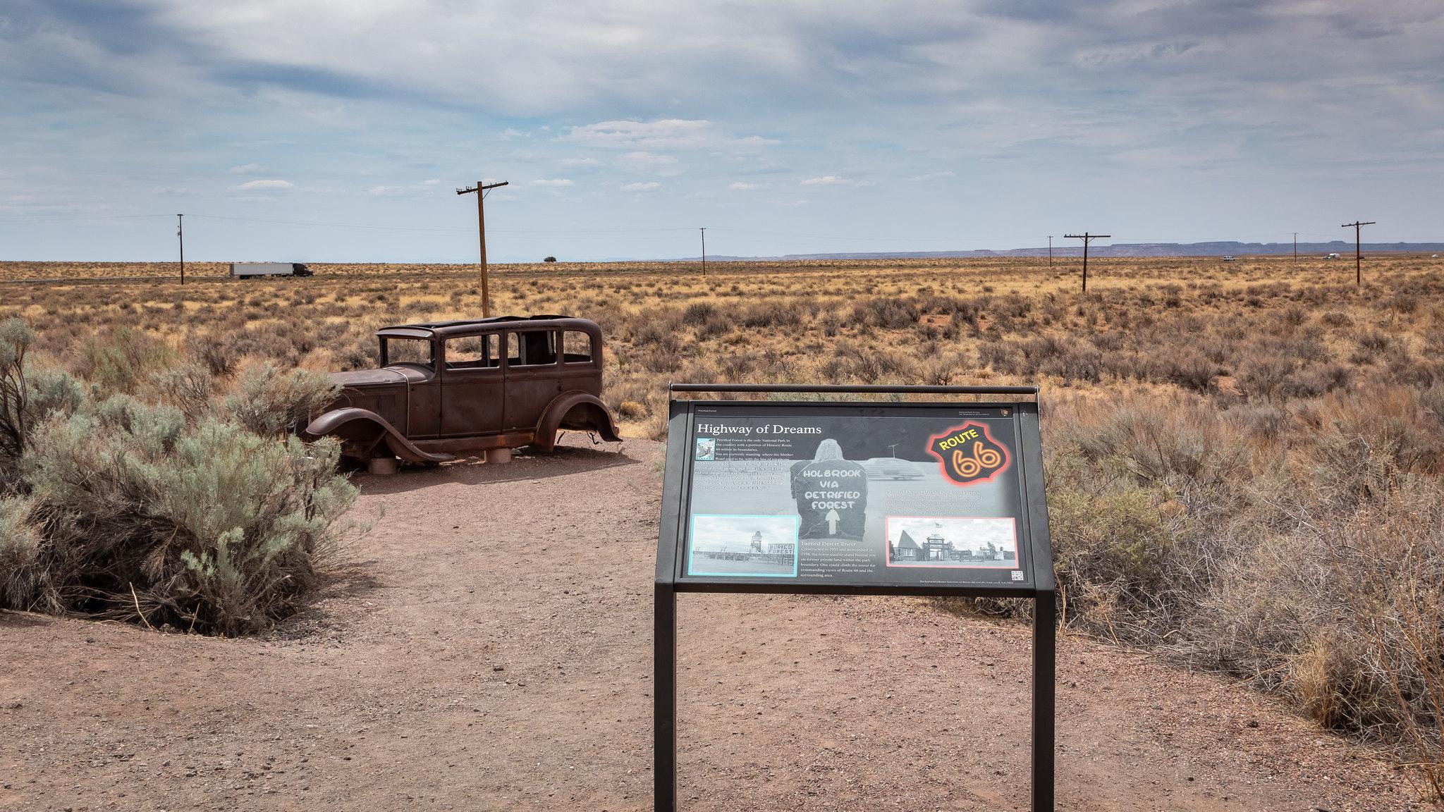 Petrified Forest - Arizona - [USA]
