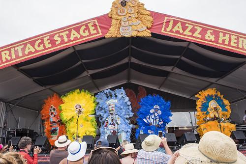 Jazz Fest day 5 on May 4, 2018. Photo by Ryan Hodgson-Rigsbee RHRphoto.com