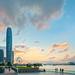 Sunset at Admiralty, Hong Kong
