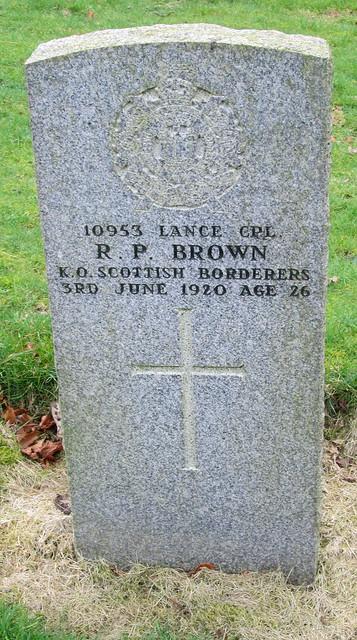 Penicuik War Grave