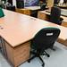 Beech Desk 14 * 12 E125