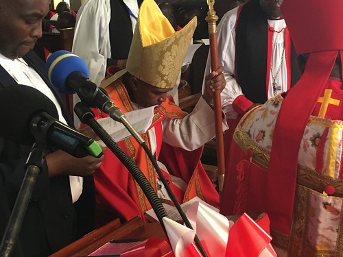 Scenes from the enthronement of Archbishop Maimbo Mndolwa as Archbishop of Tanzania at the Cathedral of the Holy Spirit in Dodoma on Sunday 20 May 2018 - 06
