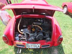 1959 Abarth Zagato 750GT - Engine