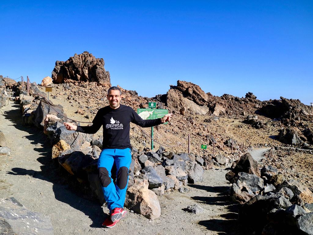 Mirador de La Fortaleza en El Teide