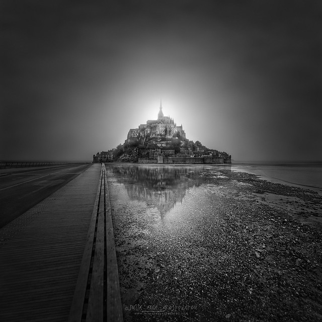 Enlightenment III – Mont Saint Michel, France