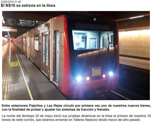 SANTIAGO | Metro | Metrô - Page 158 - SkyscraperCity