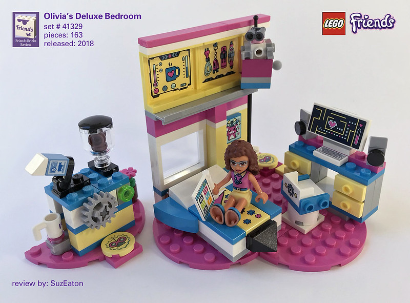 Heartlake Times Review 41329 Olivias Deluxe Bedroom