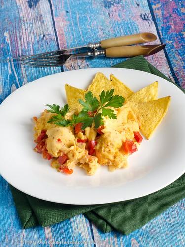 Huevos Revueltos a la Mexicana (1)