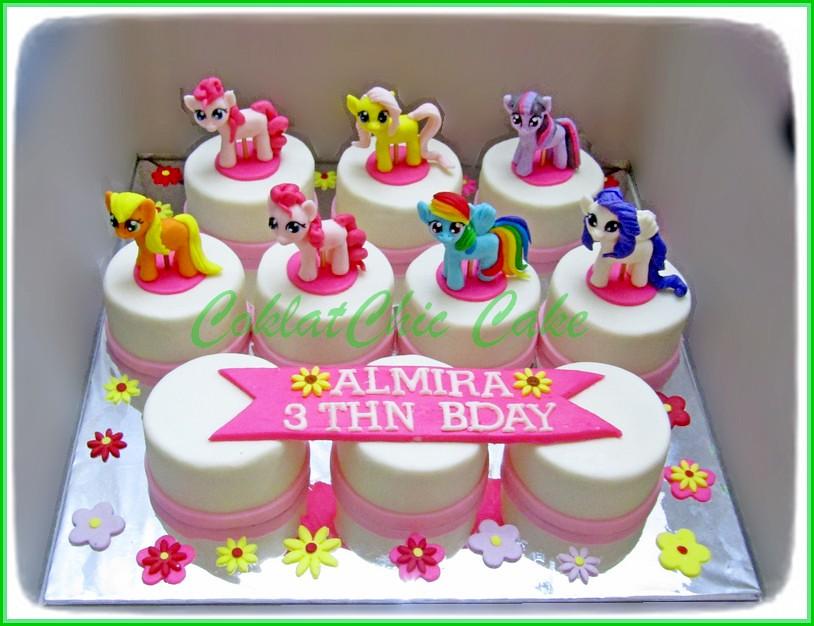 Minicake Set My Little Pony - ALMIRA