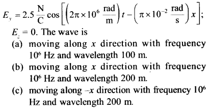 NEET AIPMT Physics Chapter Wise Solutions - Electromagnetic Waves 12