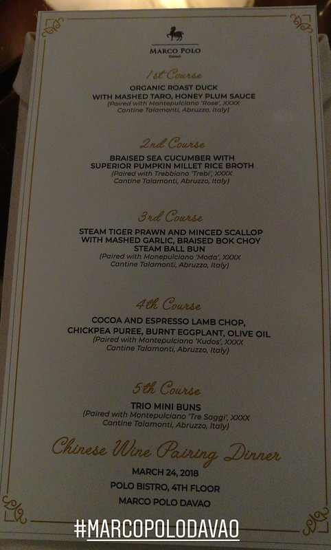 Chinese Wine Pairing menu at Polo Bistro in Marco Polo Davao IMG_20180324_191310_641