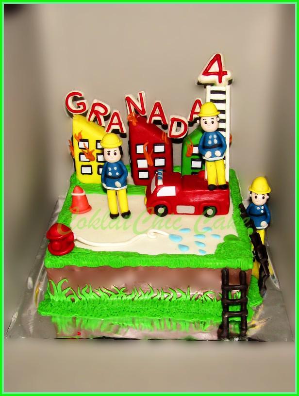 Cake Fireman GRANADA 20 cm