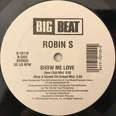 ROBIN S:SHOW ME LOVE(LABEL SIDE-B)