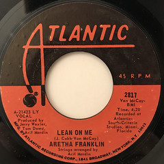 ARETHA FRANKLIN:SPANISH HARLEM(LABEL SIDE-B)