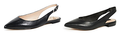 Shopbop Black Slingbacks