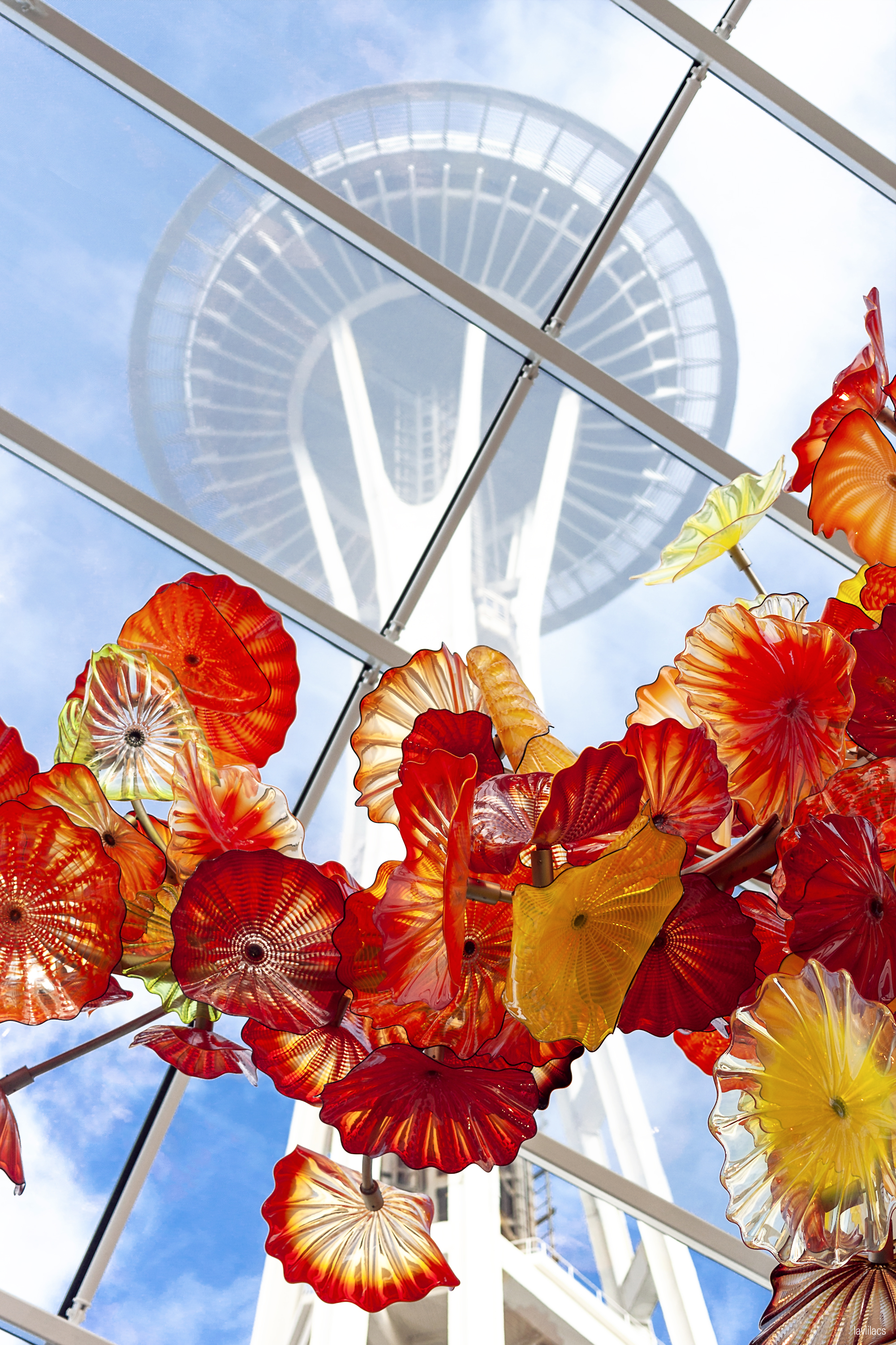 lavlilacs Seattle Center, Seattle, Washington Chihuly Garden and Glass - Space Needle and Glasshouse