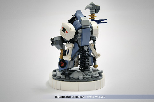 Rune Priest in Terminator Armour: angles