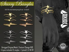 OXIDE Starry Bangles - April Vip Group Gift