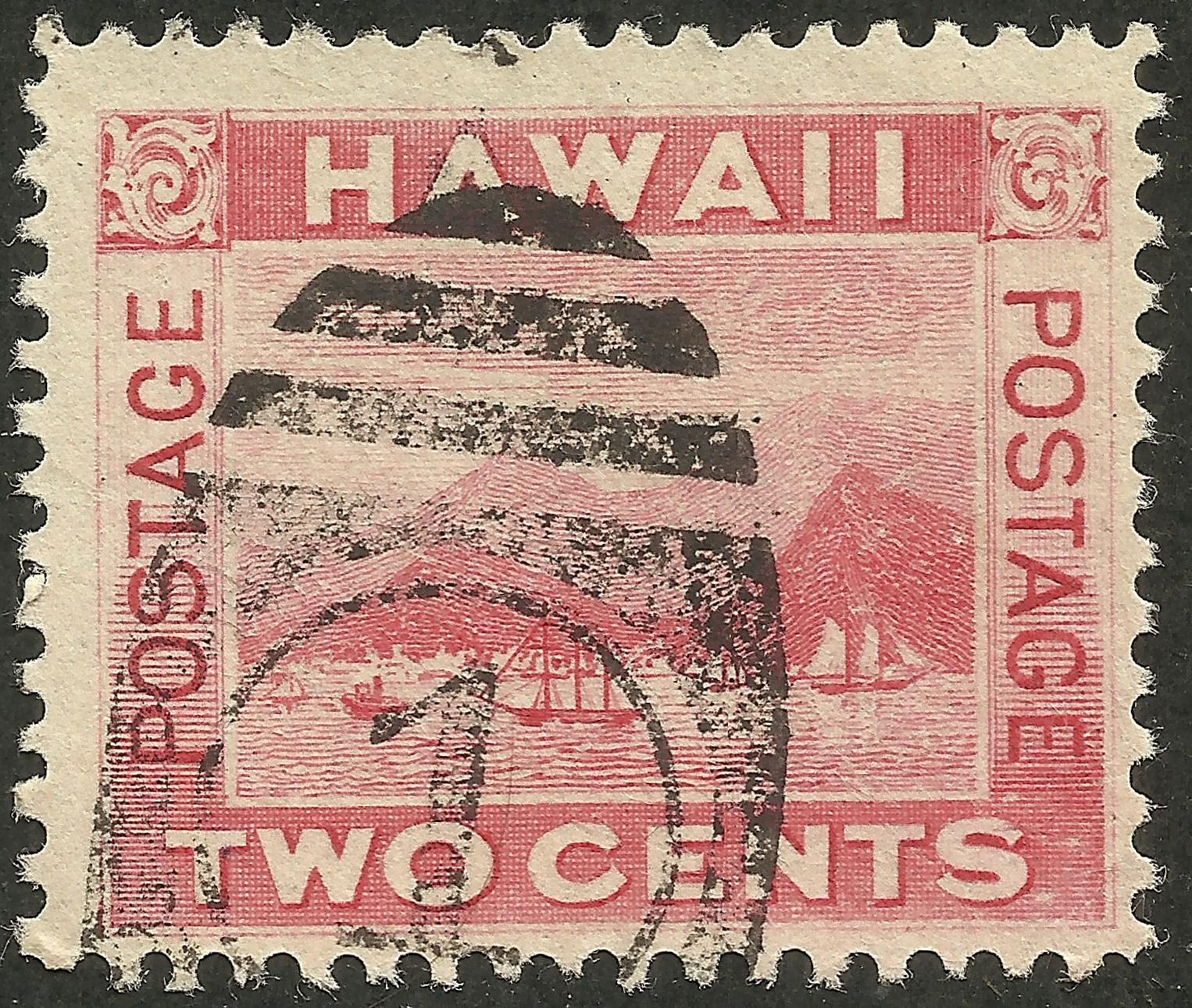 Hawaii Under U.S. Administration - Scott #81 (1899)