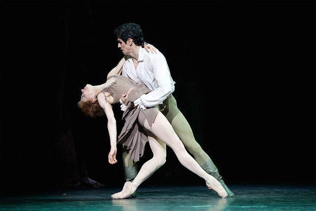 Marianela Nuñez and Federico Bonelli © ROH 2014. Photographed by Alice Pennefather