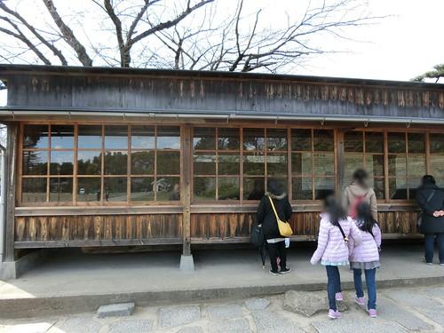 姫路城の旧西大柱