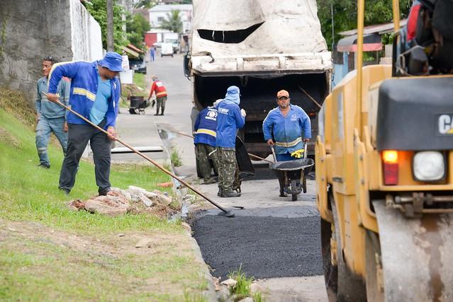 Prefeitura reforça serviços de infraestrutura com a proximidade do verão